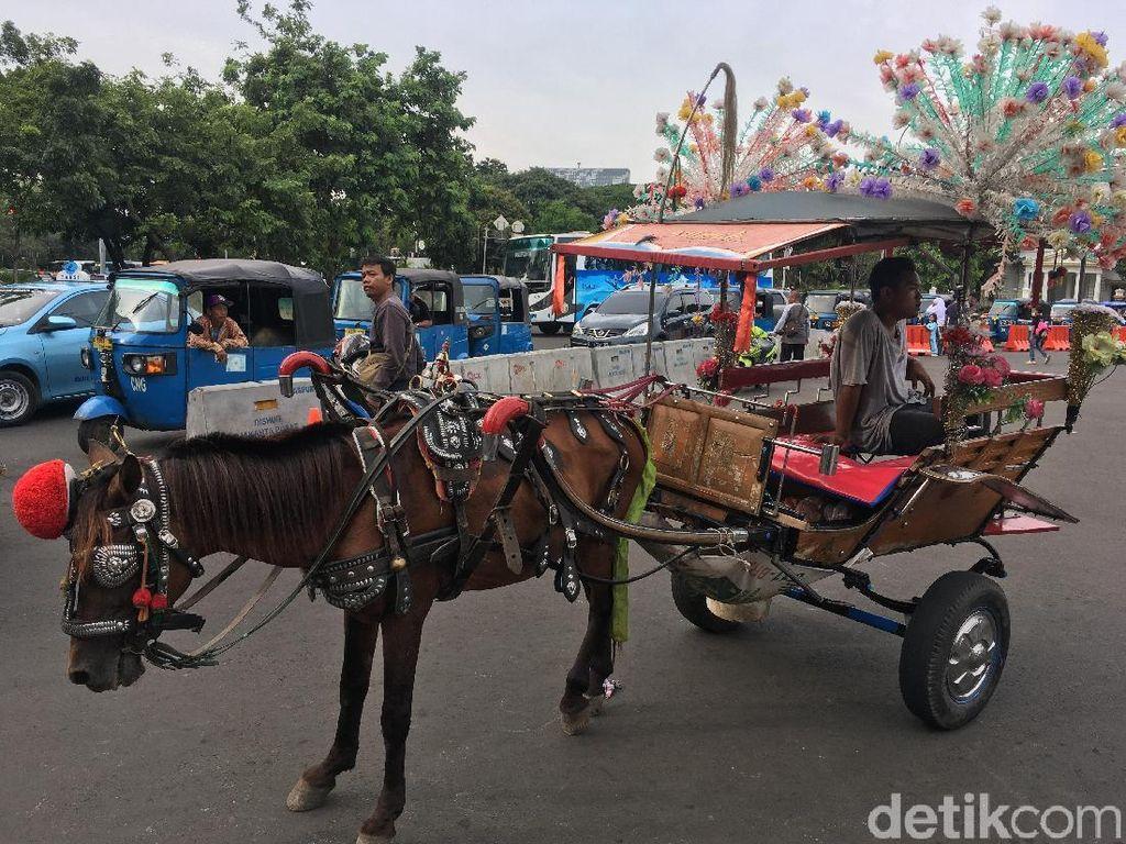 Izinkan Delman di Monas, Sandi Koordinasi Kesehatan Kuda ke JAAN