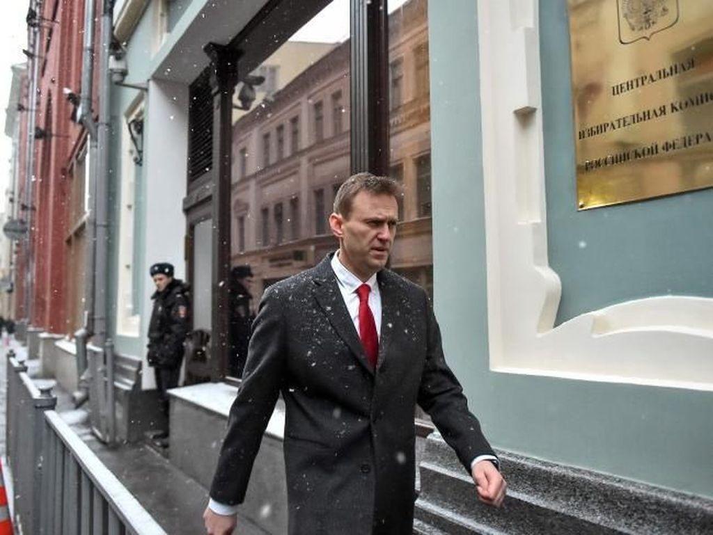 Kritikus Putin Alexey Navalny Dilarang Ikut Pilpres Rusia 2018