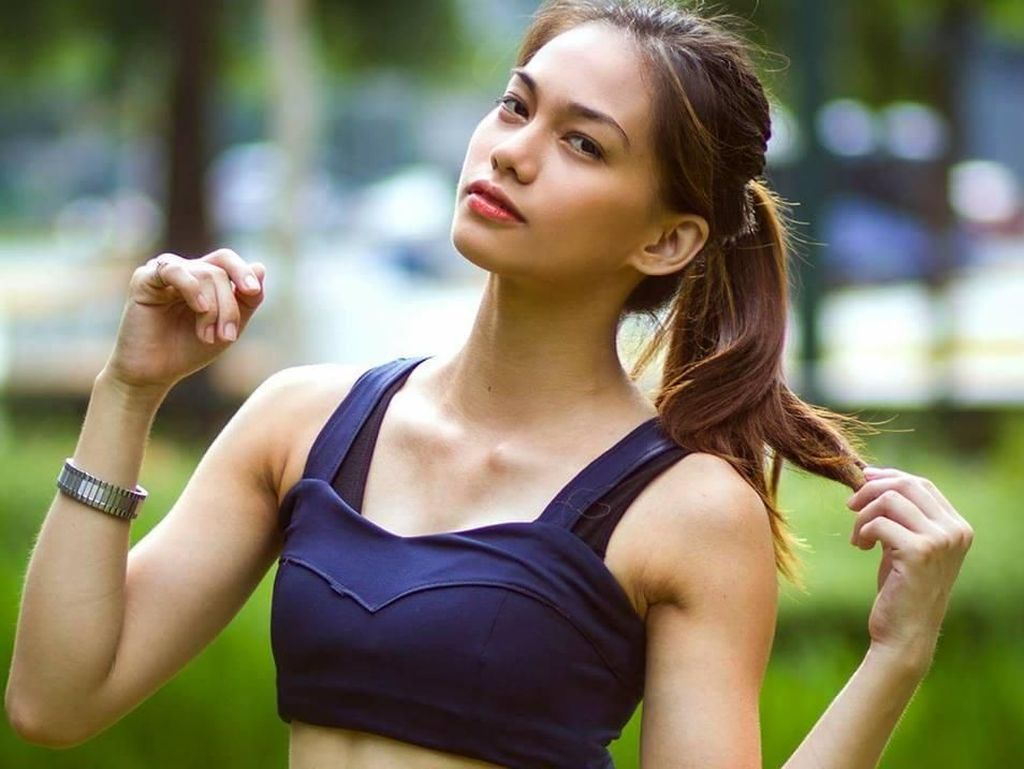 Foto: Pesona Rome Trinidad, Model Cantik dan Seksi yang Kini Jadi Petarung