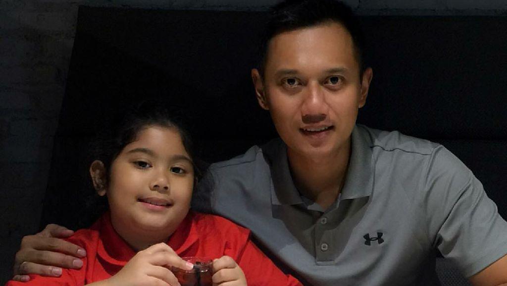 Aira, Gadis Kecil Kesayangan Ayah Agus Yudhoyono