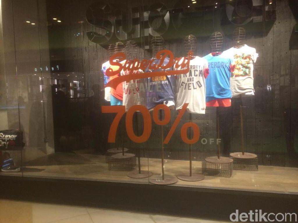 Superdry Diskon Hingga 70%, T-shirt Mulai dari Rp 160 Ribu