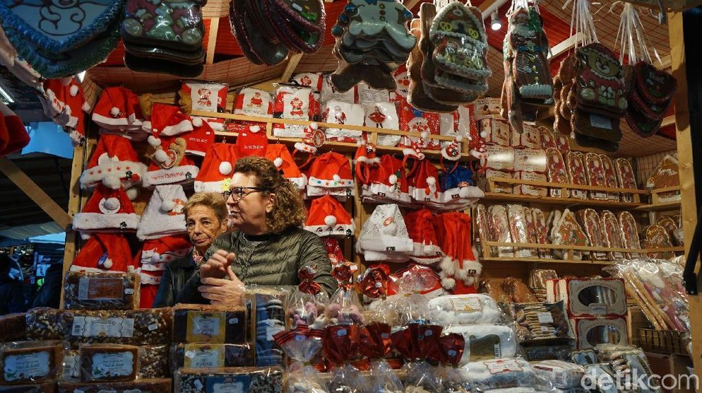 Foto: Merasakan Pasar Natal di Prancis