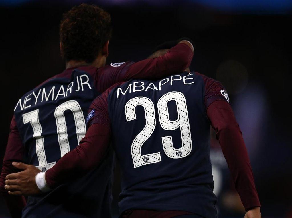 Neymar dan Mbappe Tak Akur?