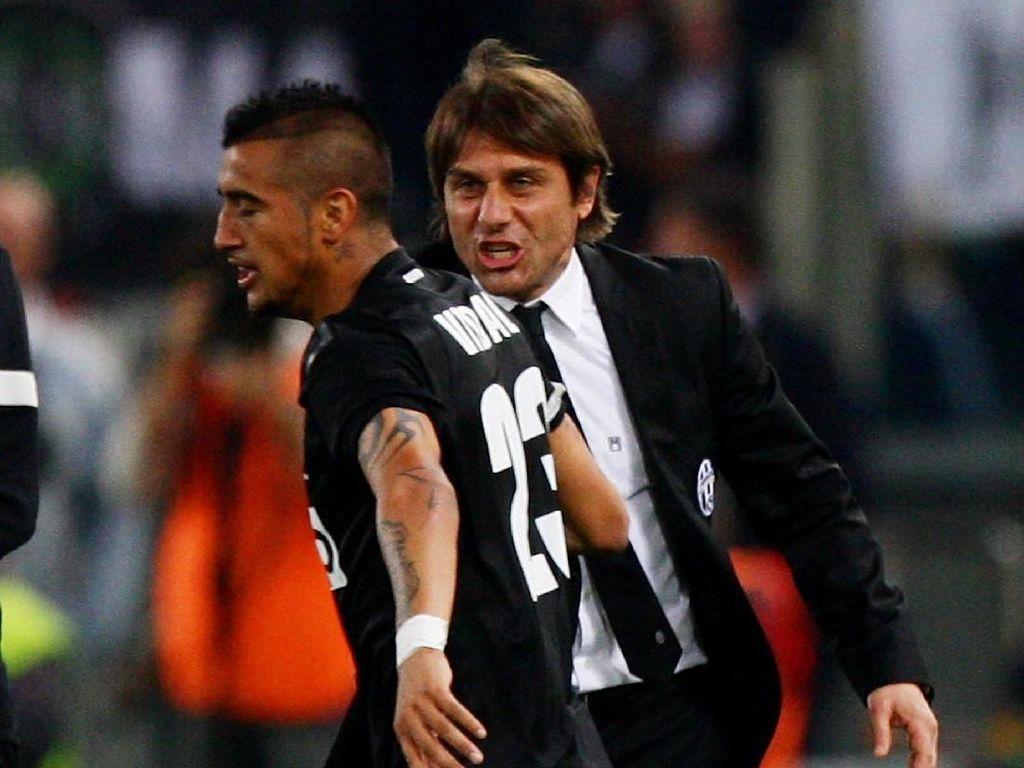 Conte Tertarik Datangkan Vidal?