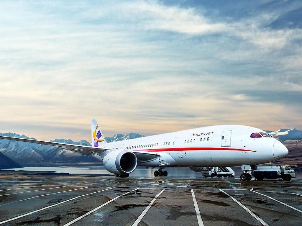 Foto: Ini Bukan di Hotel, Ini di Pesawat Boeing