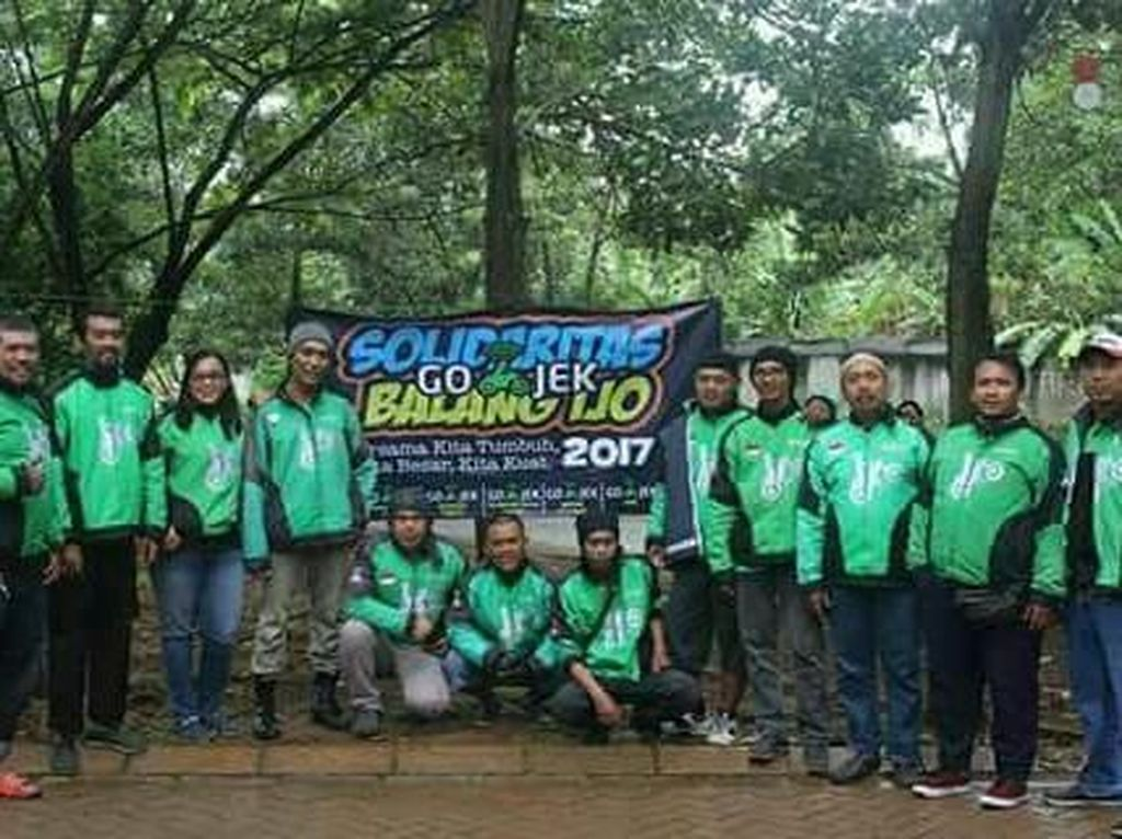 Balang Ijo, Gotong Royong ala Driver Ojek Online