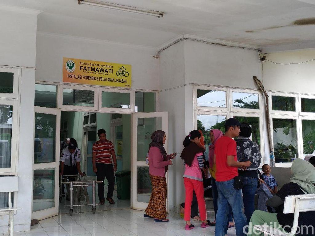 Jasad 2 Pekerja Proyek Pakubuwono Spring Belum Dijemput Keluarga