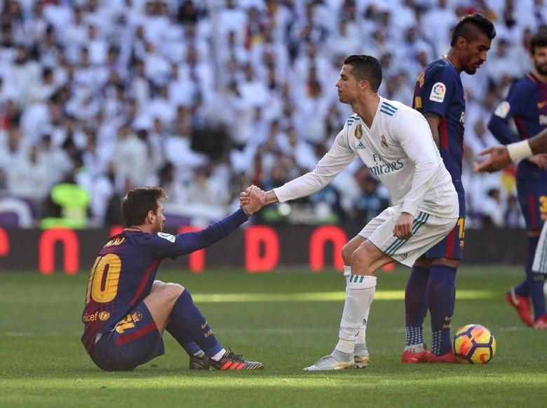 Media-Media Eropa: Messi Pemain Terbaik di 2017, Bukan Ronaldo