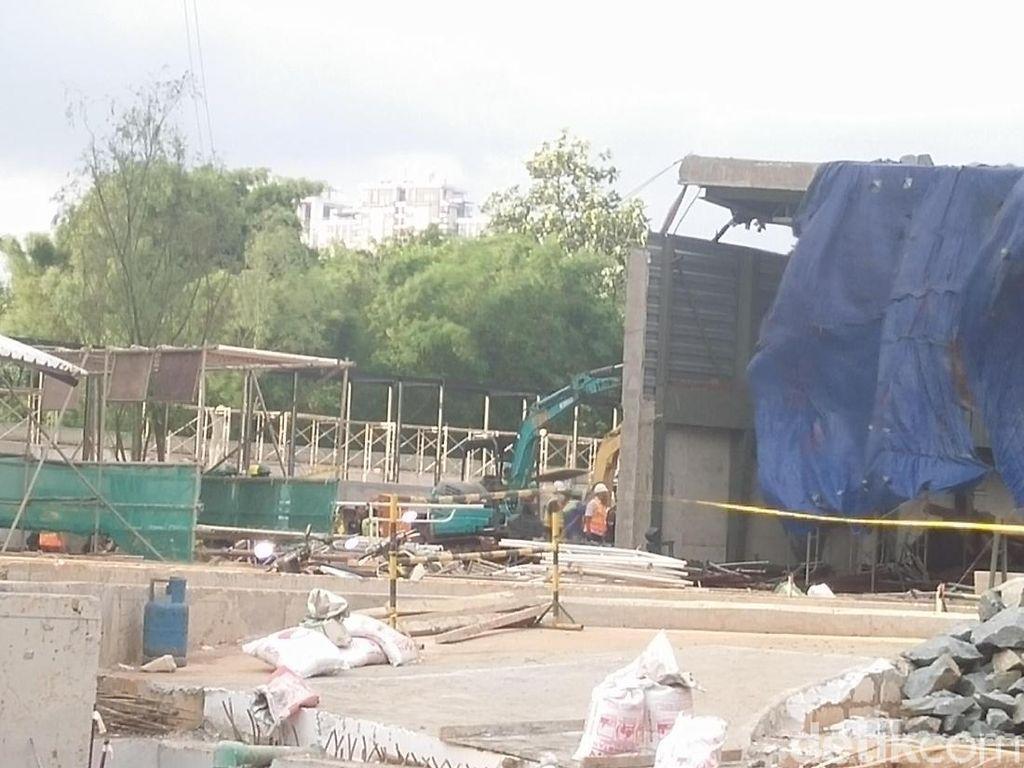 Pelaksana Proyek Apartemen Pakubuwono Diperiksa Polisi