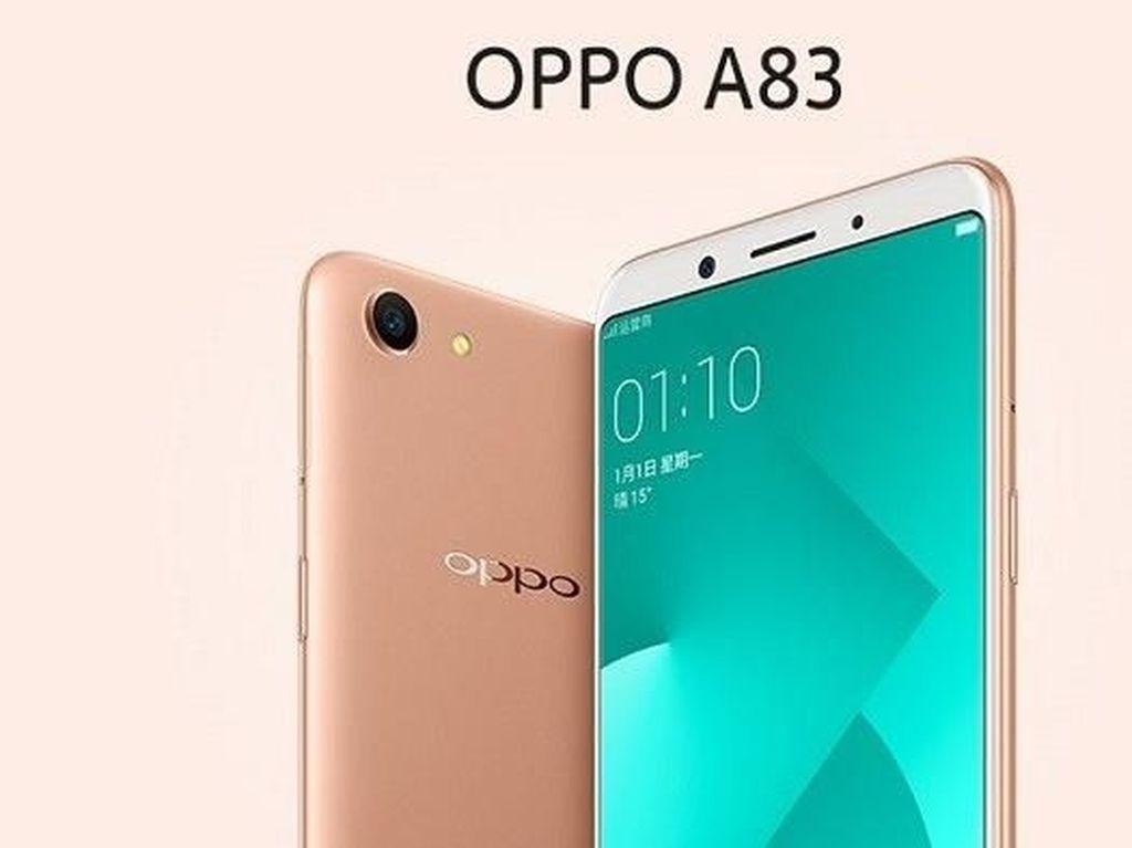 500 Unit Oppo A83 Ludes Terjual di JD.id