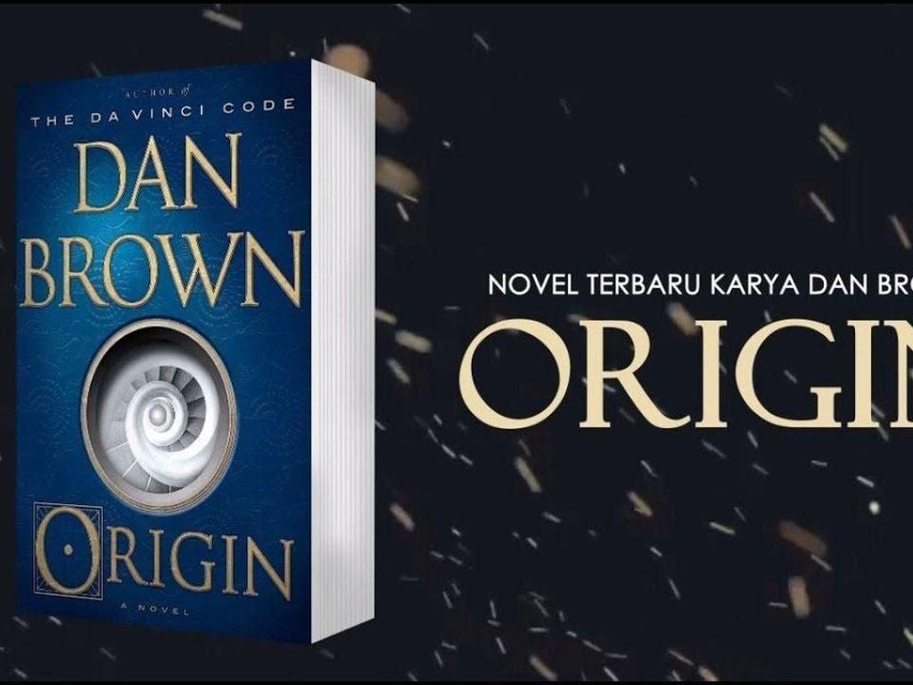 Novel Origin Dan Brown Terbit dalam Bahasa Indonesia
