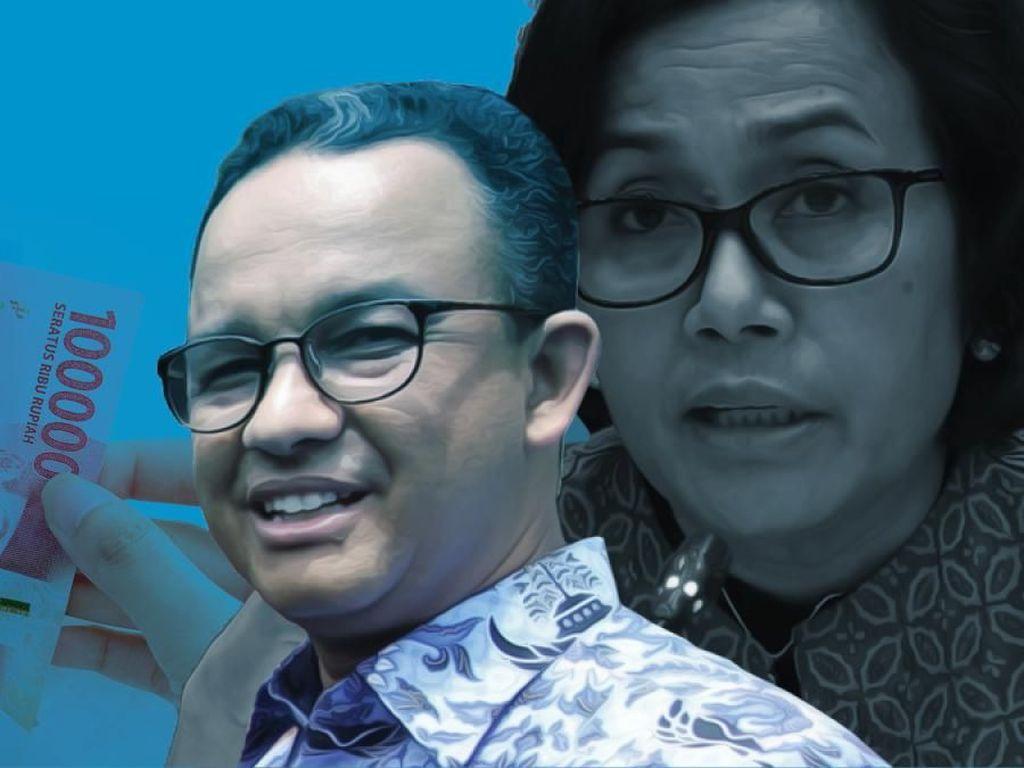 Sri Mulyani Dukung Anies Terbitkan Obligasi Demi Hapus Beban DKI