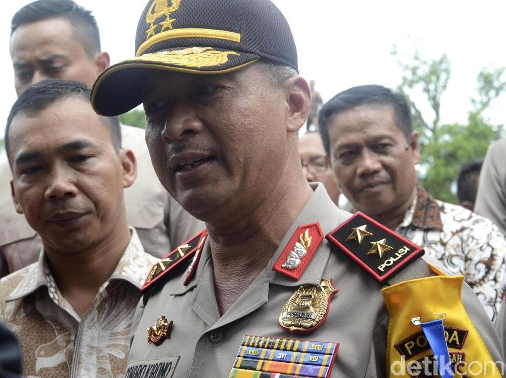 Polda Jateng Perketat Jalur Pemindahan Napiter ke Nusakambangan