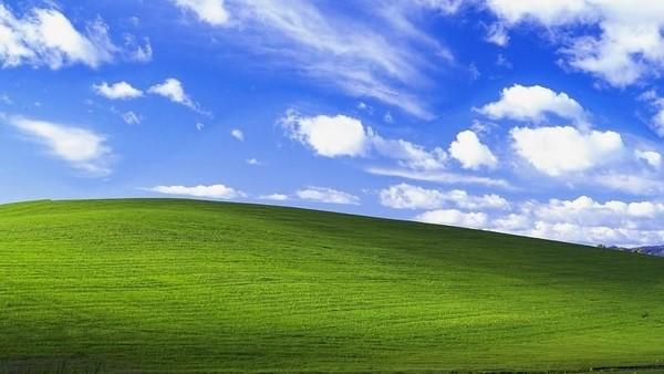 Wallpaper Windows XP, Bliss.
