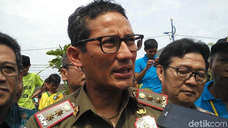 Sandiaga Uno Sebut Tak Ada Kenaikan Tarif Pajak DKI di 2018