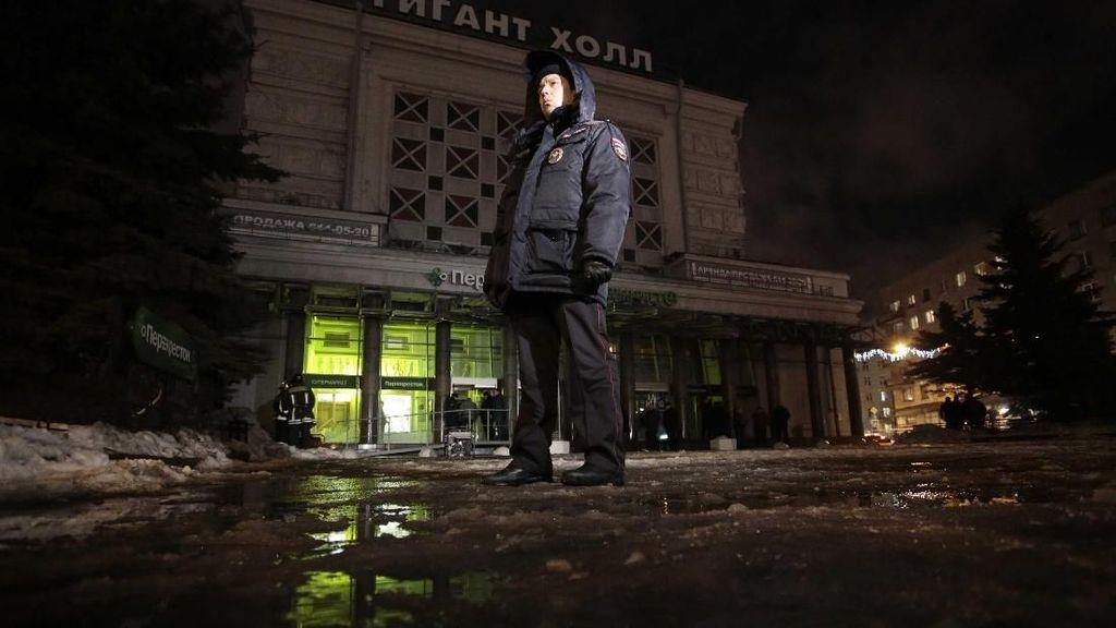 Ledakan Terjadi di Supermarket Saint Petersburg