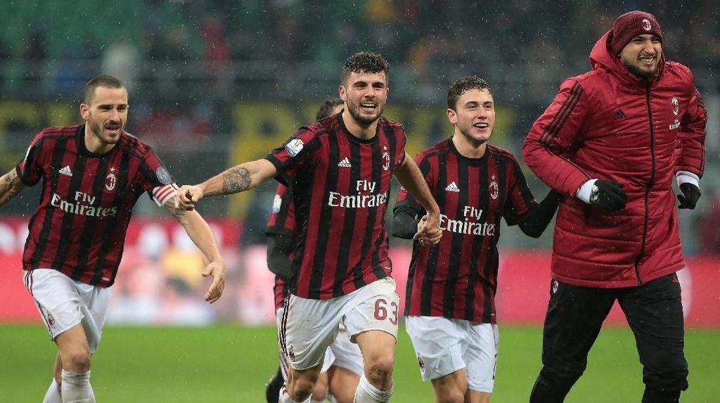Sukacita Milan Usai Singkirkan Inter