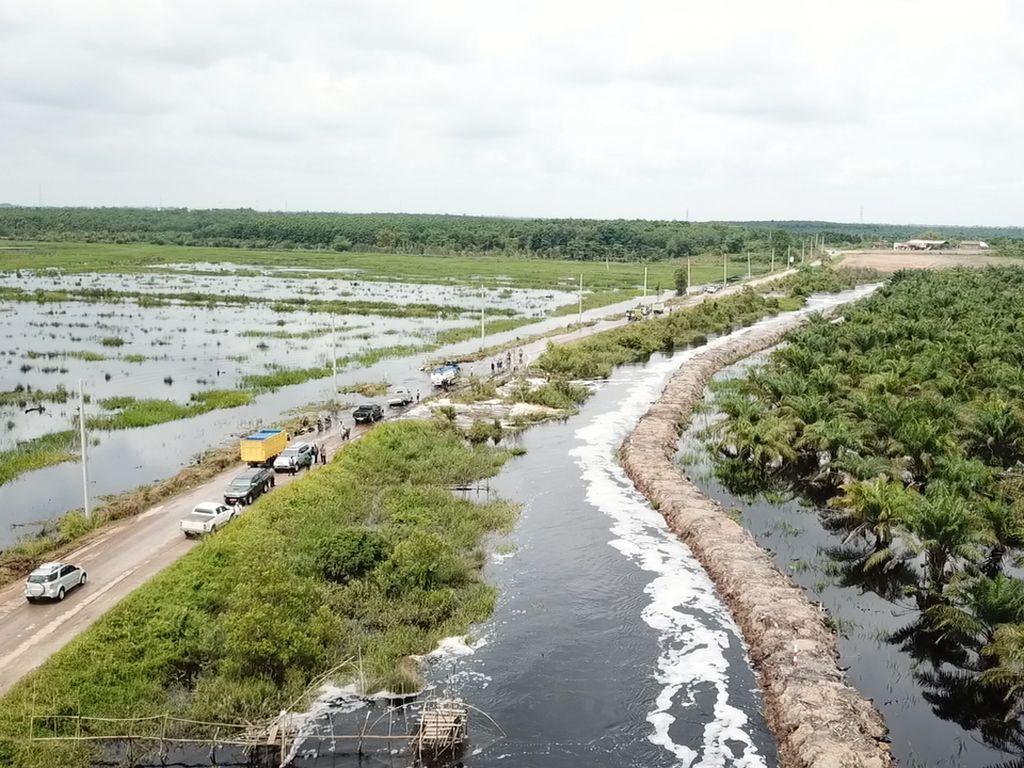Banjir di Sumsel Mulai Surut, Warga Diimbau Tetap Waspada