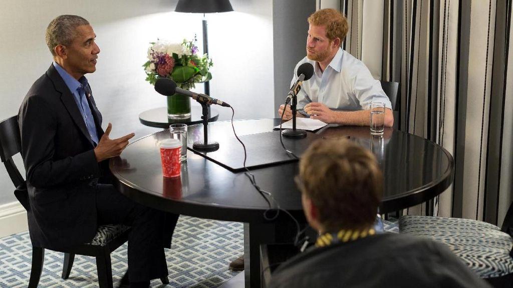 Ketika Pangeran Harry Wawancarai Obama