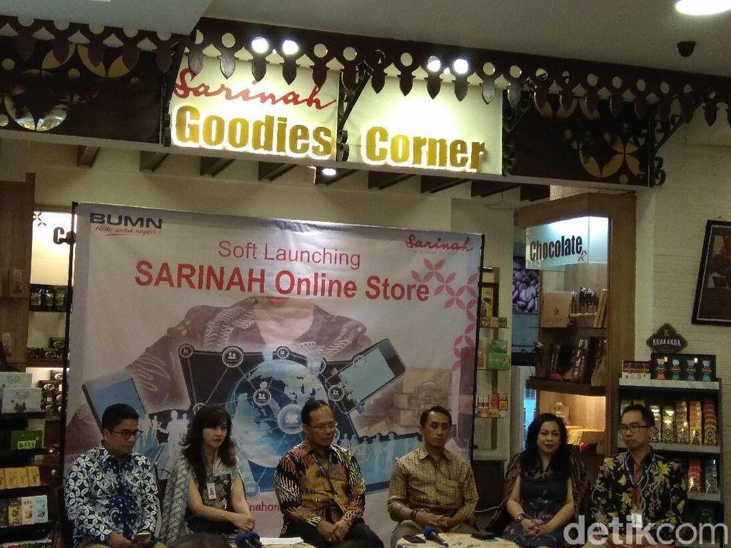 Sarinah Buka Toko Online, Produk Apa Saja yang Dijual?