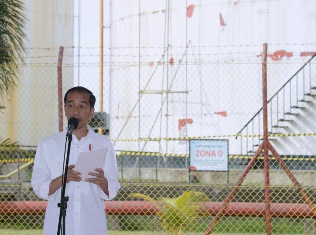 Jokowi Teken Aturan tentang Pajak Gross Split