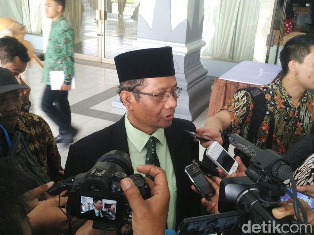 Mahfud MD Tidak Yakin Pilkada Jatim akan Diwarnai Isu SARA