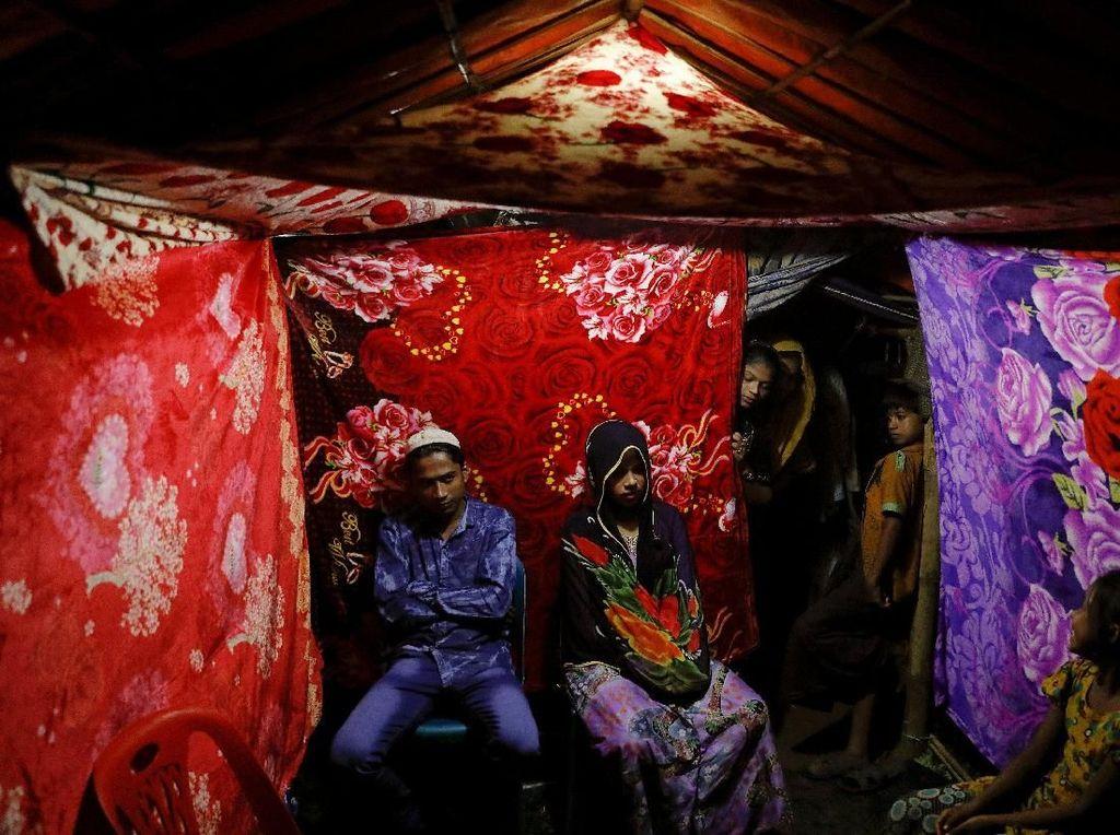 Kisah Saddam dan Shofika yang Menikah di Pengungsian