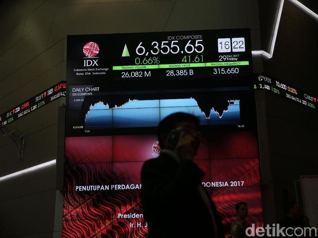 Kontras Dengan Bursa Asia, IHSG Parkir Positif di 6.313