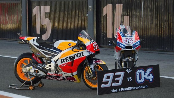 MotoGP 2017: Kecerdikan Marquez vs Dovizioso yang Gigih