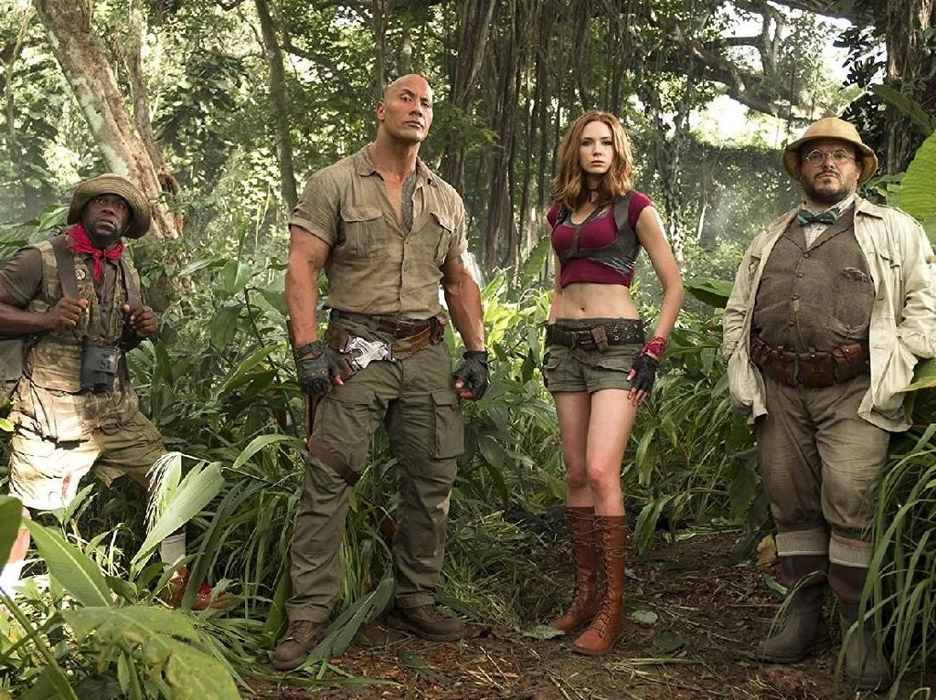 Jumanji: Welcome to the Jungle Tak Terkalahkan dari Puncak Box Office