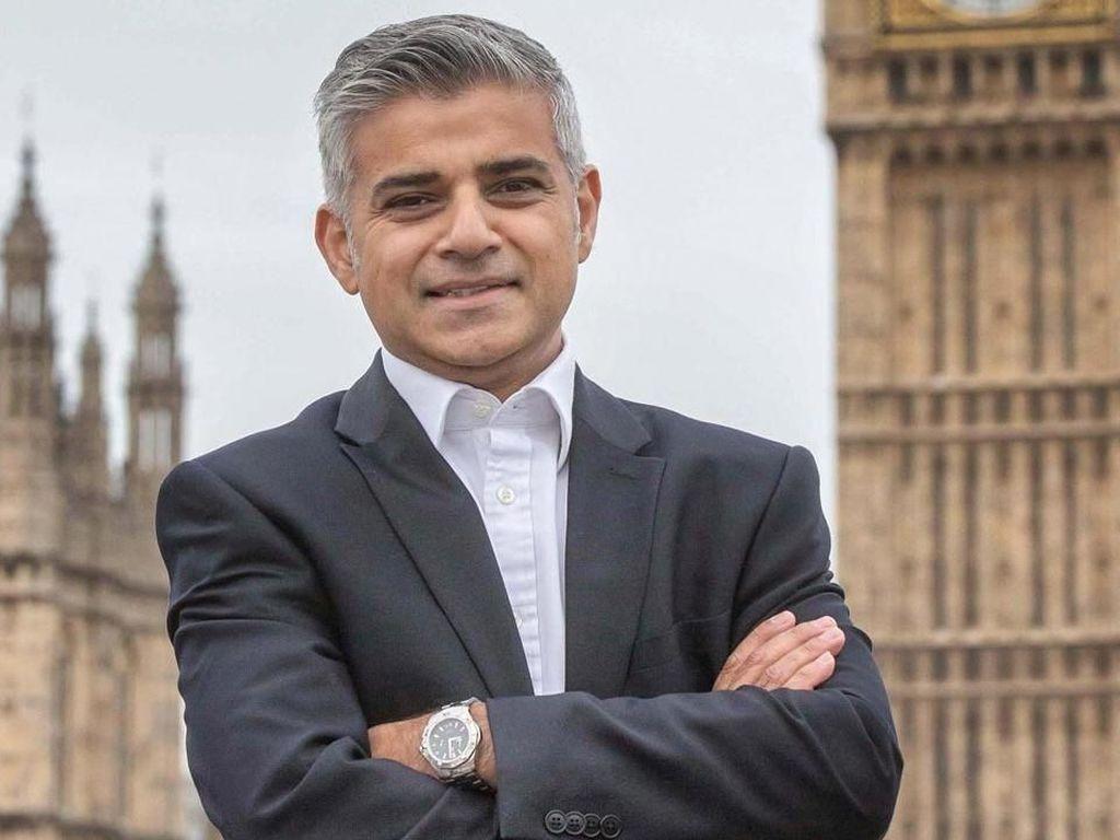 Sadiq Khan, Wali Kota London yang Takkan Sambut Trump di Inggris
