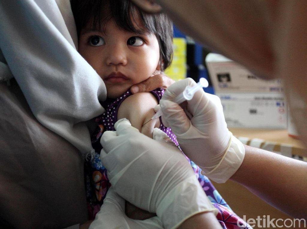 Belum Penuhi Target, Imunisasi MR Diperpanjang Hingga 31 Desember 2018