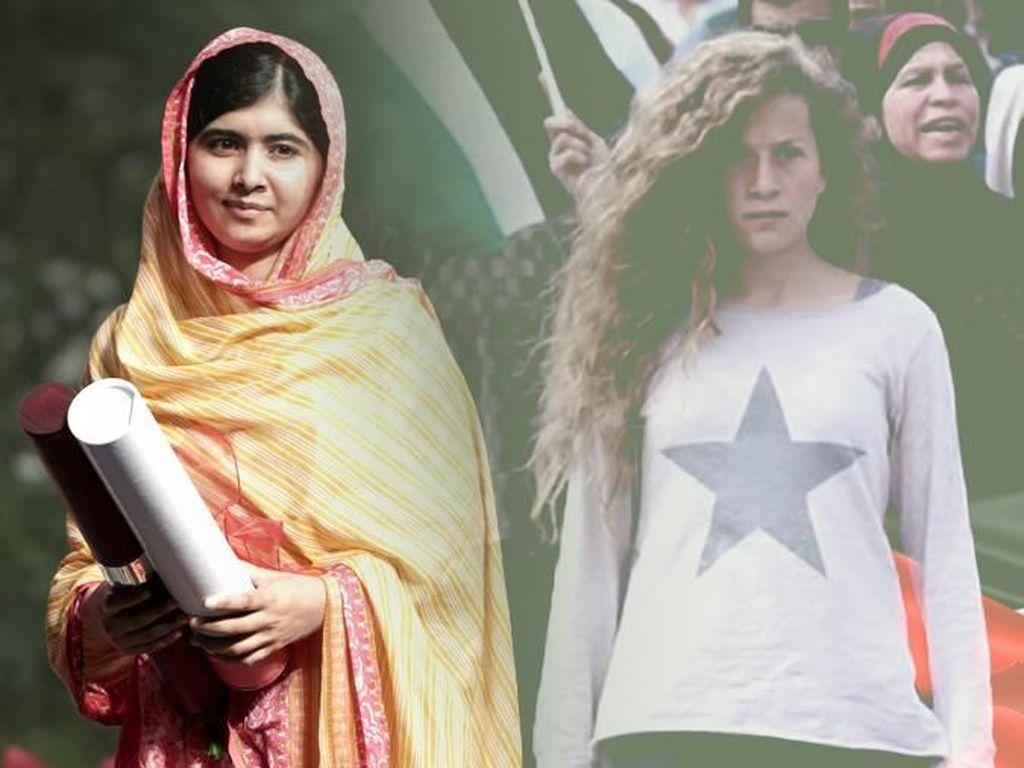 Mengapa Dunia Memuji Malala, Tapi Abai dengan Ahed di Palestina