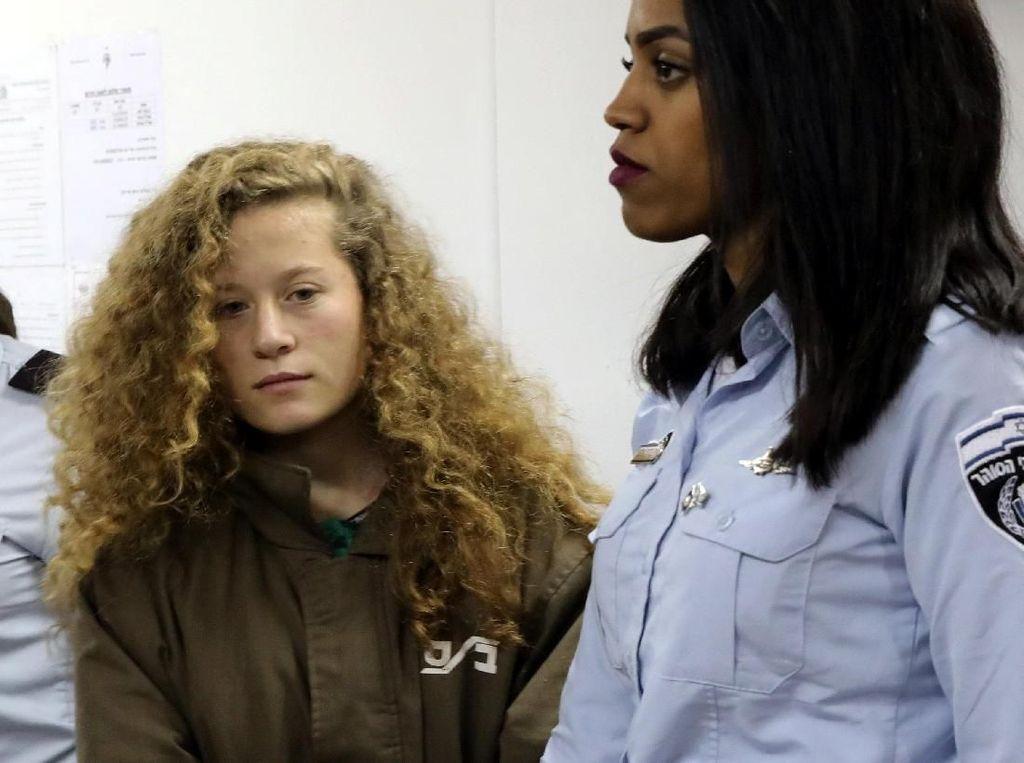 ABG Palestina yang Tampar Tentara Israel Jalani Sidang