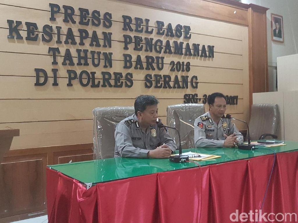 Polres Serang Imbau Warga Tak Main Petasan di Malam Tahun Baru