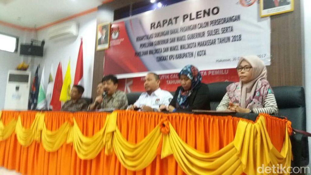 2 Pasangan Resmi Bertarung Berebut Kursi Walkot Makassar