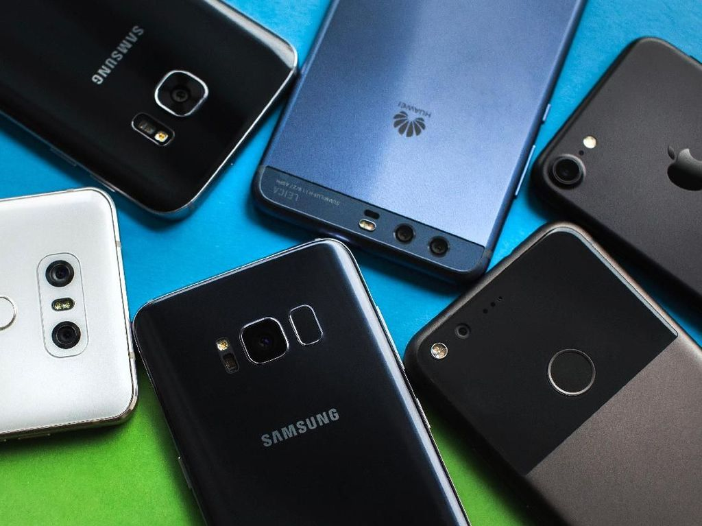 10 Ponsel Terkencang Android Sepanjang Oktober