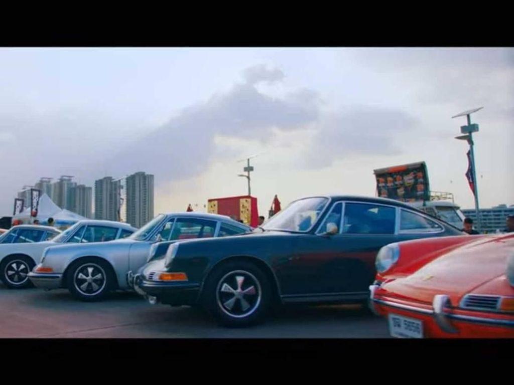 Reuni Mobil Porsche Terbesar Ada di Bangkok