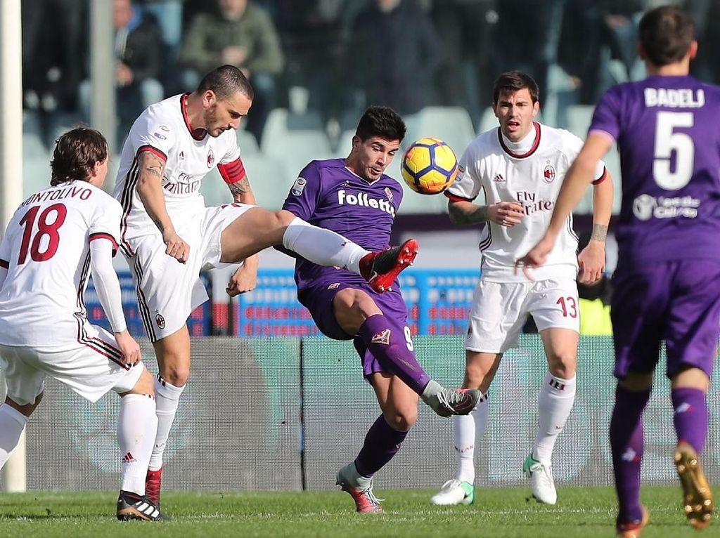 AC Milan Diimbangi Fiorentina 1-1
