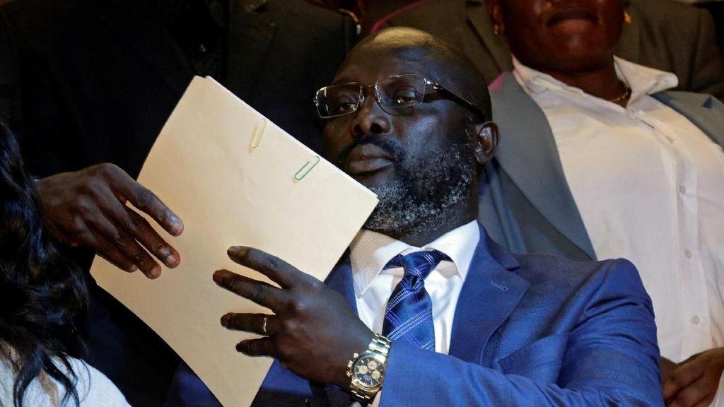 George Weah: Dari Lapangan Hijau ke Kursi Presiden Liberia
