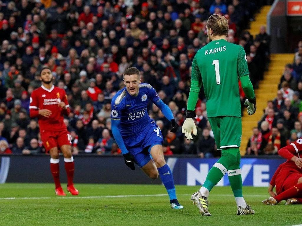 Foto: Salah Cemerlang, Liverpool Menang