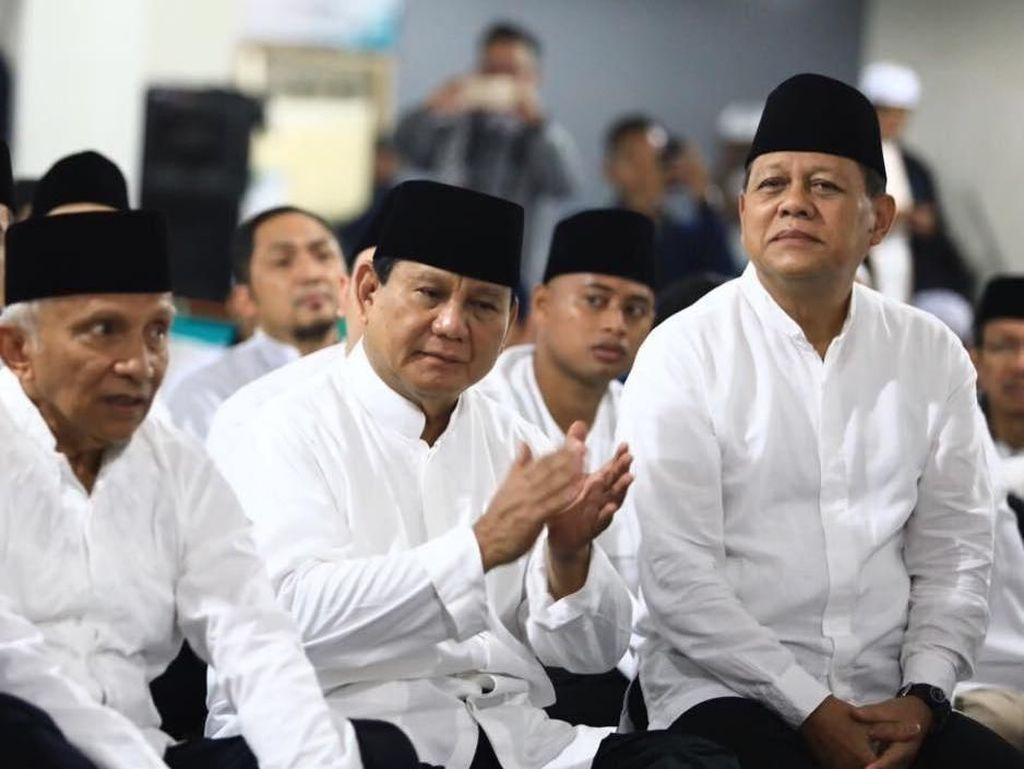Amien Didorong Nyapres, Gerindra Yakin PAN Usung Prabowo