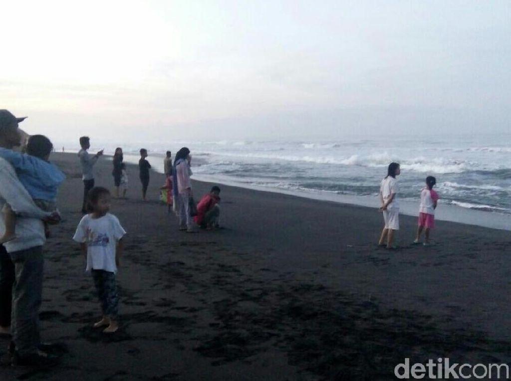 Mahasiswi Asal Jambi Tewas Tenggelam di Pantai Glagah Kulon Progo
