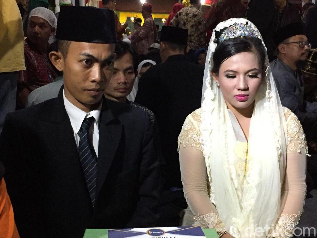 Pemprov DKI akan Nikahkan 801 Pasangan di Tahun Baru