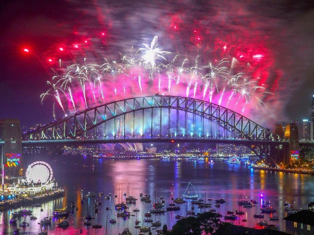 Foto: Semarak Perayaan Tahun Baru di Berbagai Negara