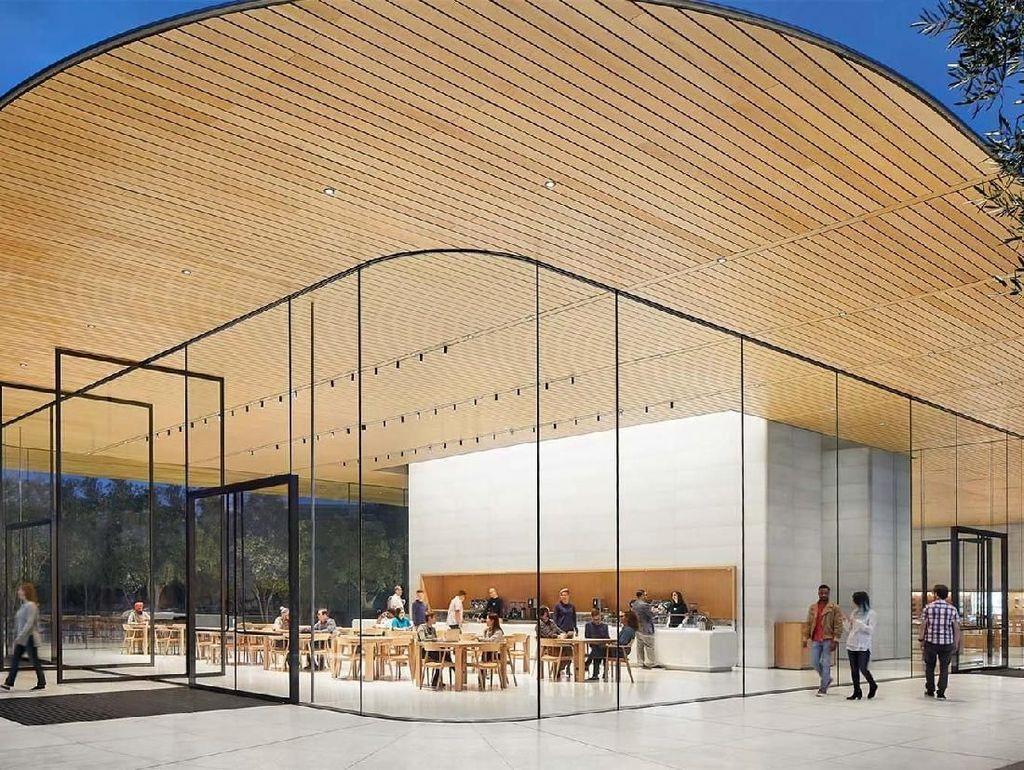 Deretan Apple Store Berdesain Keren