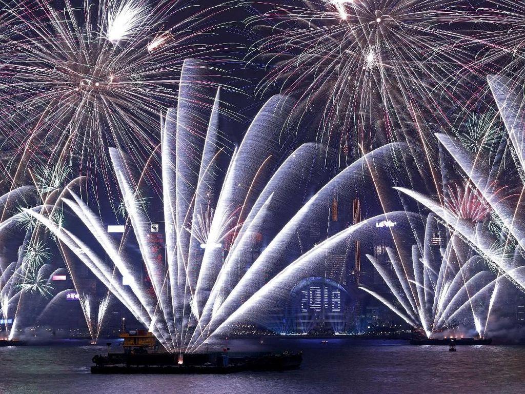 Tahun Baruan di Hong Kong, Hitung Mundur Online