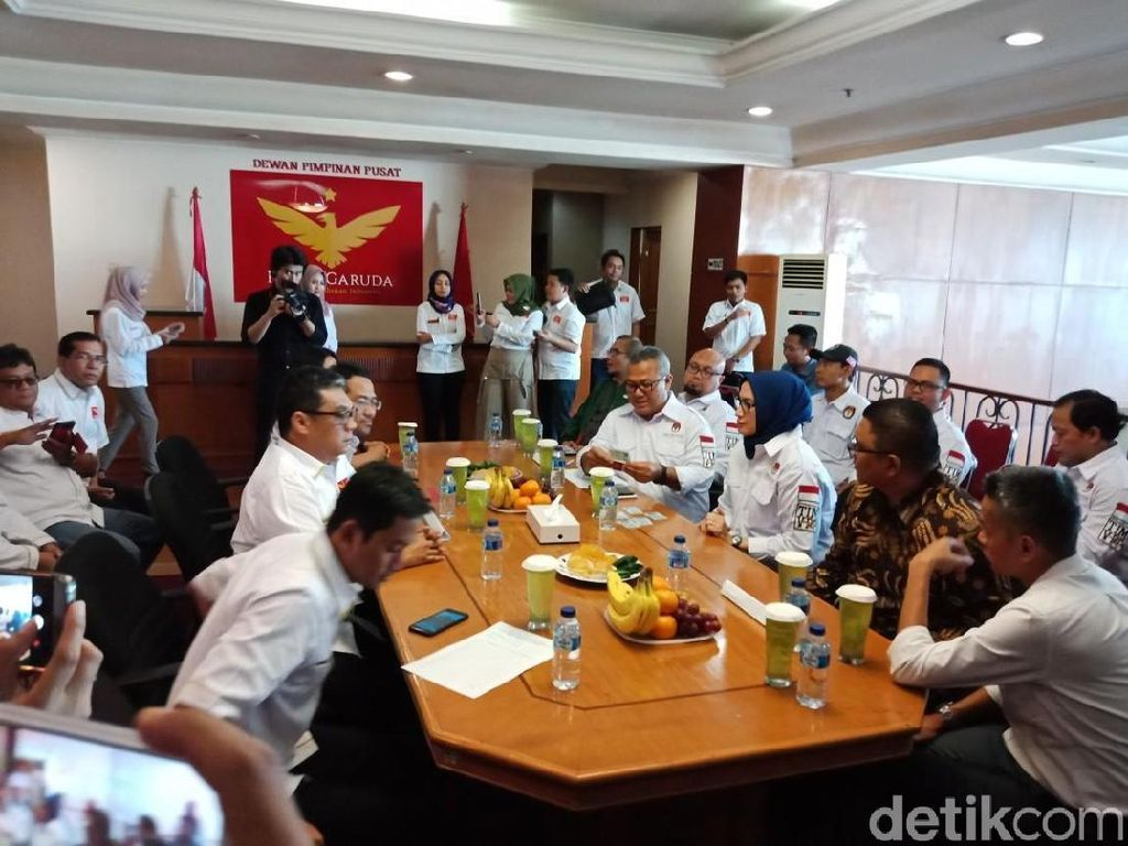 KPU Nyatakan Partai Garuda Lolos Verifikasi Faktual Tingkat Pusat