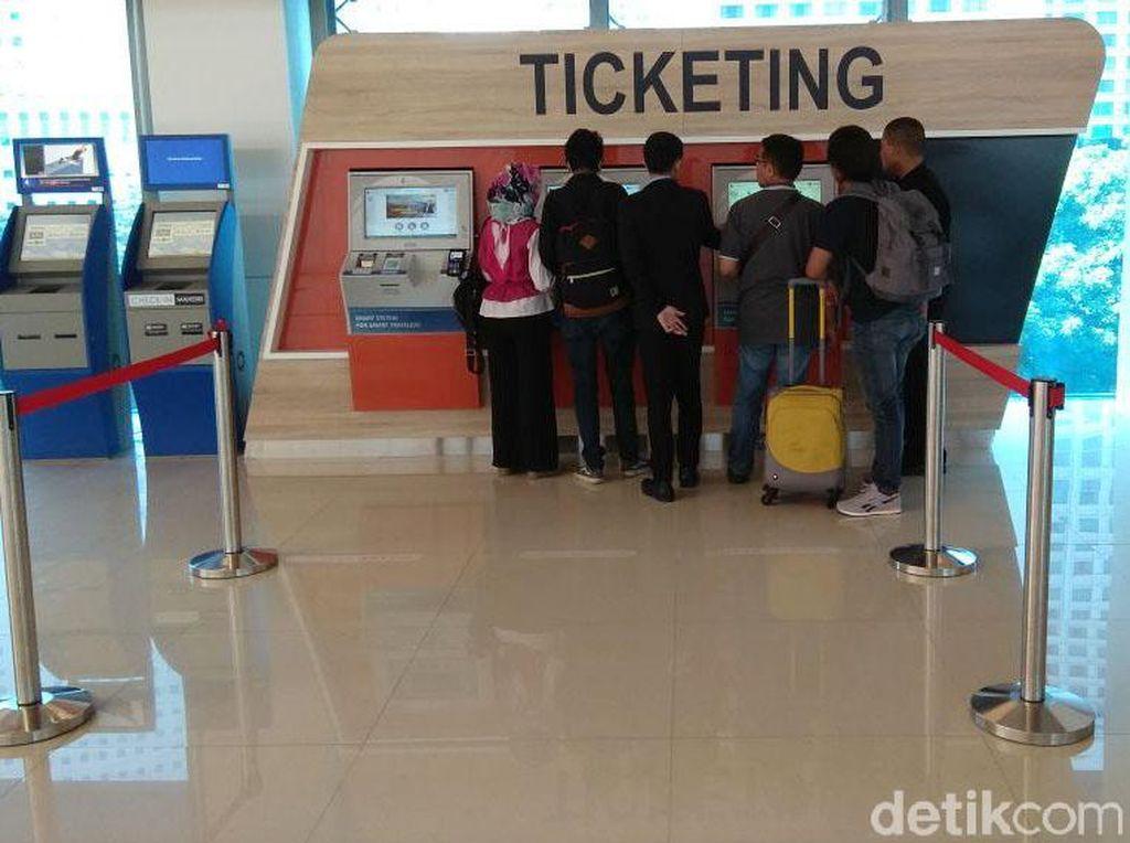 Jangan Lupa! Beli Tiket Kereta Bandara Soetta Non Tunai