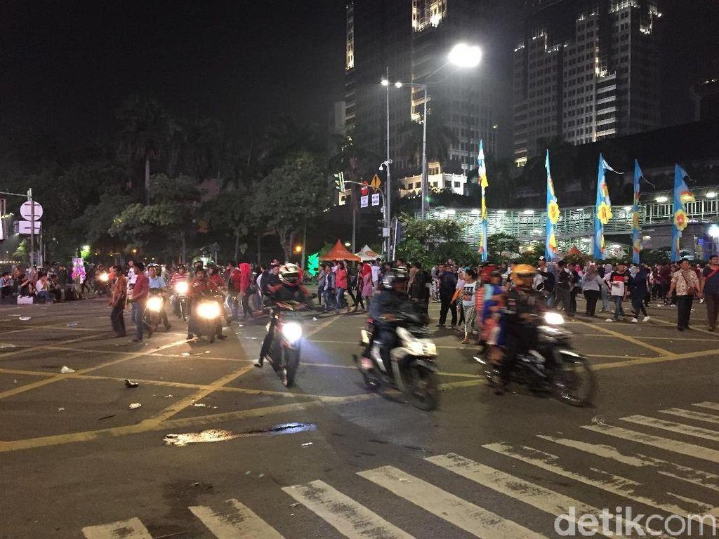 Pemotor Segera Bebas Melintas di Jalan MH Thamrin